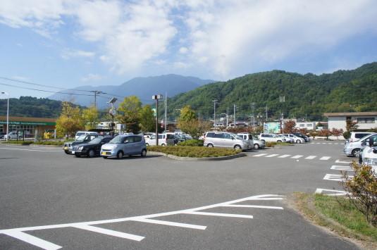 西嶋和紙まつり 駐車場