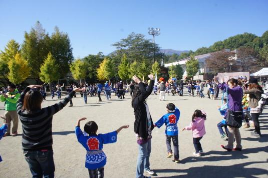 はんこ祭り 踊り