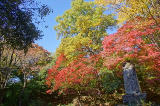 紅葉 武田神社 碑
