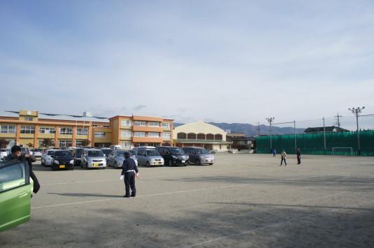 B1グランプリ甲府 駐車場