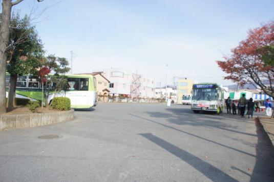 B1グランプリ甲府 駐車場 バス乗り場