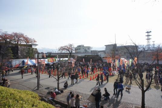 B1グランプリ甲府 舞鶴城公園