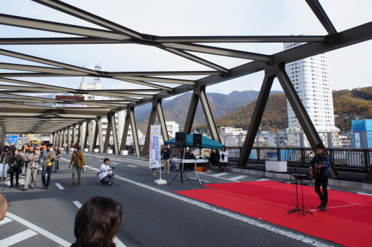 B1グランプリ甲府 舞鶴陸橋