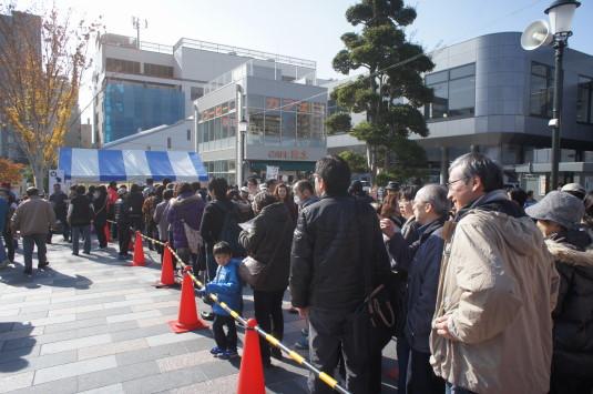 B1グランプリ甲府 イベントチケット待ち