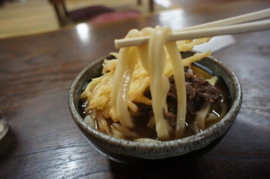 吉田のうどん ふもとや 麺リフト