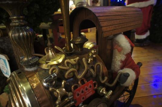 サンタクロースミュージアム 機関車