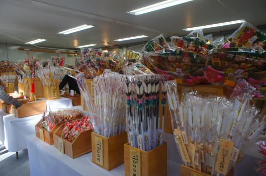 初詣 北口本宮富士浅間神社 熊手