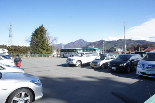 初詣 北口本宮富士浅間神社 駐車場2
