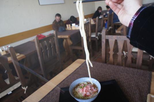 年明けうどん ドッグうどんカフェ 麺リフト