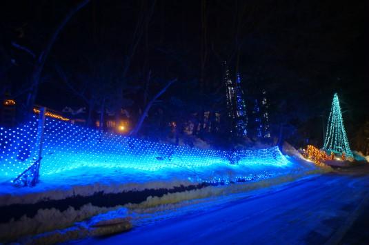河口湖冬花火 イタリアントマトパスタ