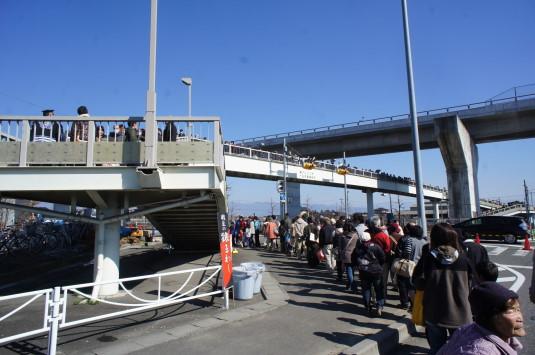 十日市 歩道橋
