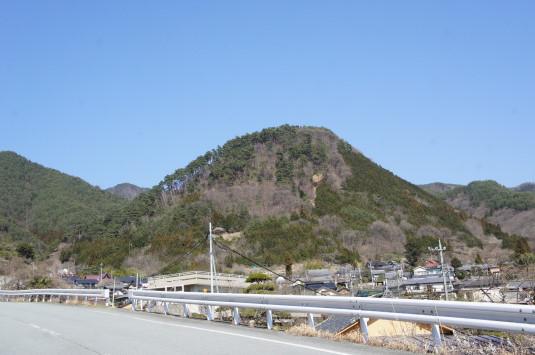 積翠寺 要害山