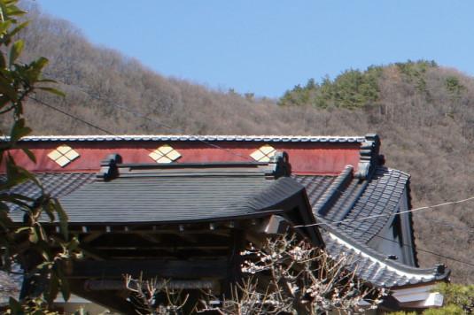 積翠寺 武田菱