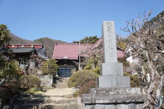 積翠寺 入り口