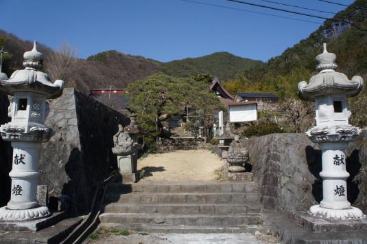 積翠寺 外観