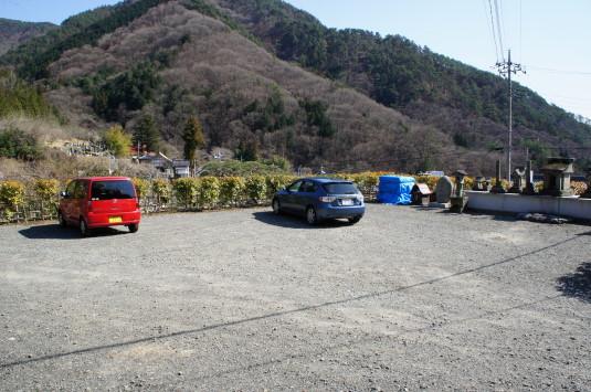 積翠寺 駐車場