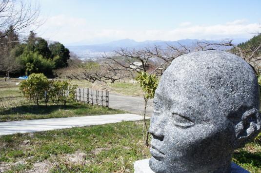 藤垈の滝公園 顔
