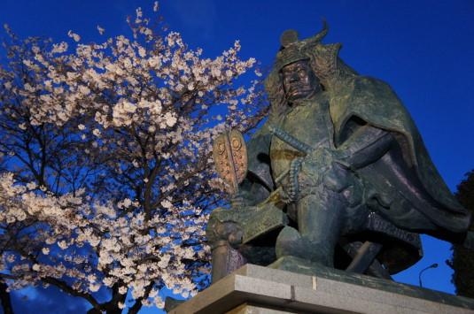 信玄公祭り1 信玄公像