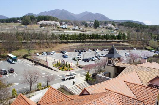 チューリップ ハイジの村 駐車場