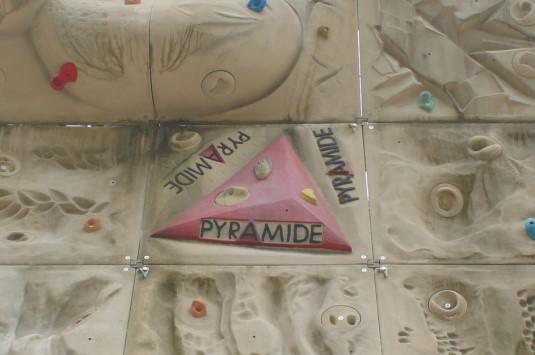 芦安村クライミングウォーク ピラミッド