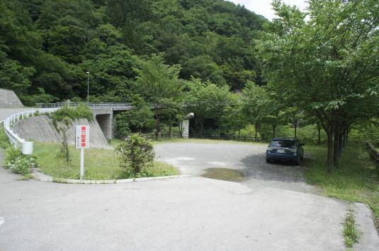 芦安村クライミングウォーク 駐車場