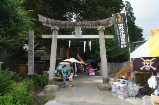 菅田天神社 みそぎ祭り 鳥居