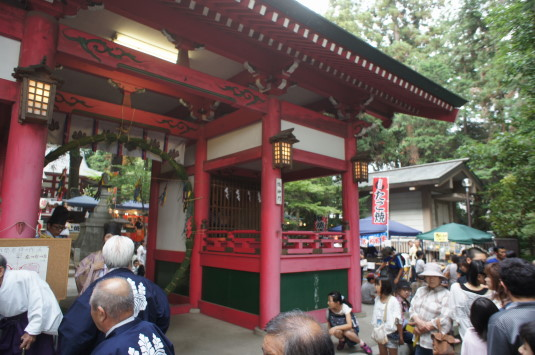 菅田天神社 みそぎ祭り 神事
