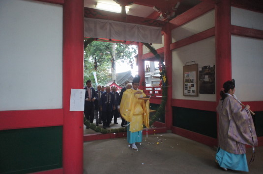 菅田天神社 みそぎ祭り くぐる