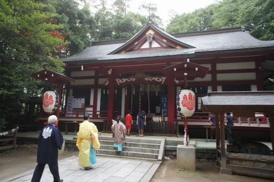 菅田天神社 みそぎ祭り 本殿