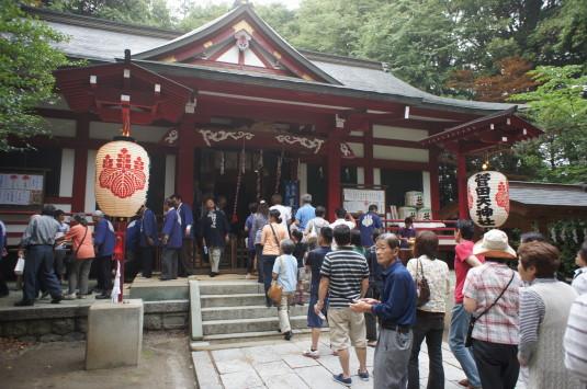 菅田天神社 みそぎ祭り 行列
