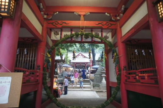 菅田天神社 みそぎ祭り 外観