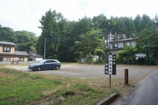 新屋山神社 本宮 駐車場2