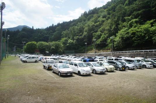 夏まつり丹波 駐車場