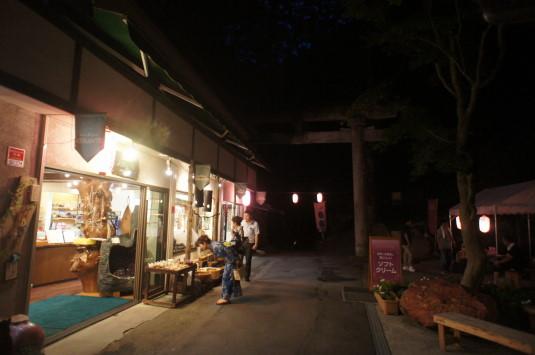 昇仙峡ライトアップ お店