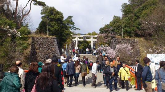 信玄公祭り 戦勝祈願式 武田神社