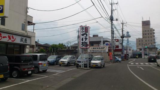ラーメン 成屋 駐車場