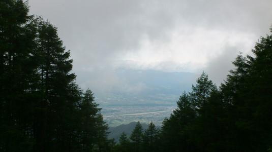 レンゲツツジ 甘利山 出発地点 眺め