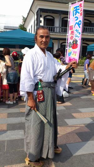 ほっぺちゃん祭り 甲府の侍
