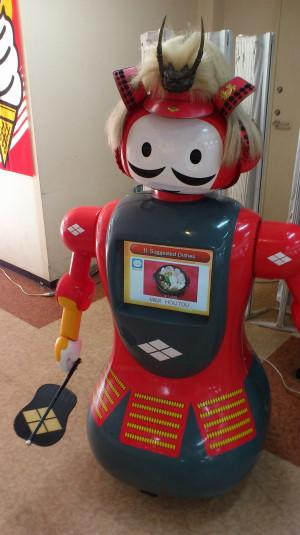 信玄公像 双葉SA上り ロボット
