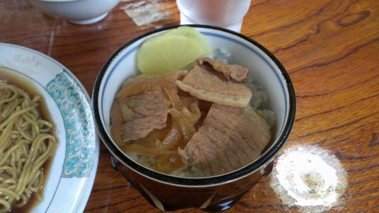 成駒屋 肉飯