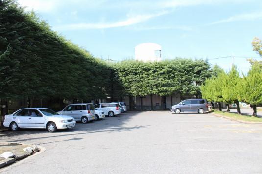 遊亀公園 駐車場
