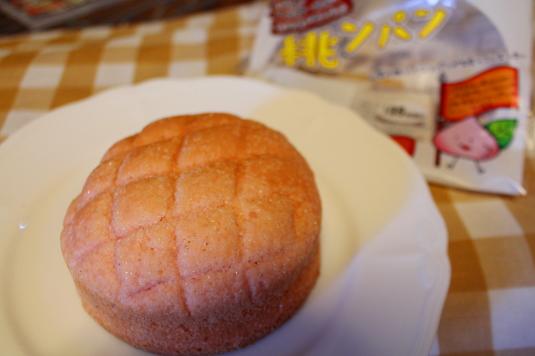 ローソン 山梨パン 桃ンパン