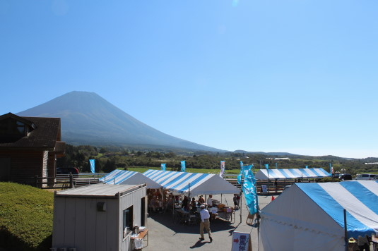 富士ヶ嶺ファームフェスタ 全体
