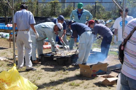 富士ヶ嶺ファームフェスタ 焼き肉