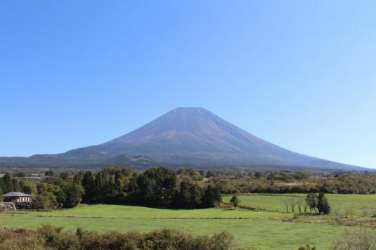 富士ヶ嶺ファームフェスタ 富士山