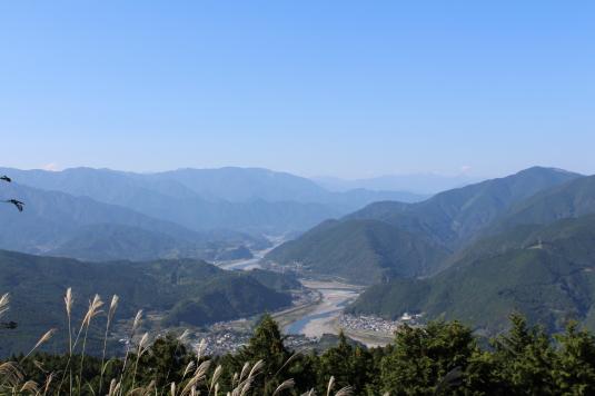 白鳥山公園 富士川
