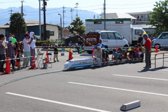 昭和町ふれあい祭り 乗り物