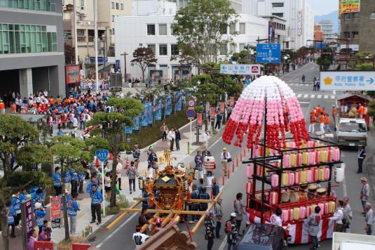 甲府大好き祭り祭り 出発前