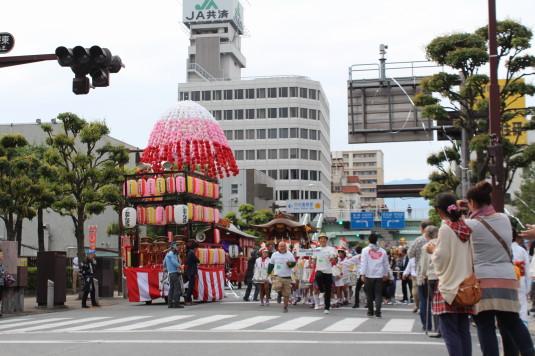甲府大好き祭り祭り スタート
