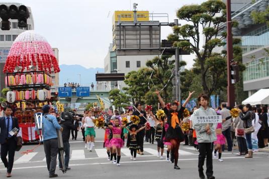 甲府大好き祭り祭り クリスタルバンド